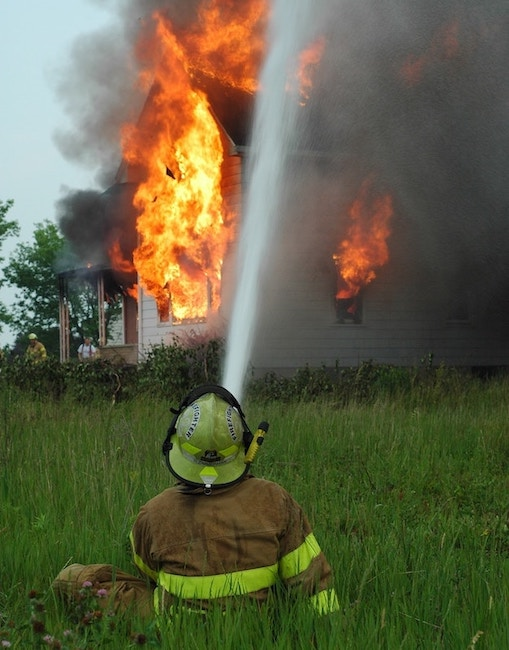 CA homeowners insurance fires